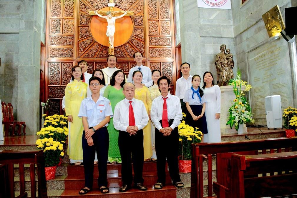 Giáo xứ Vĩnh Hòa: Mừng lễ Thánh Phaolô Tông đồ