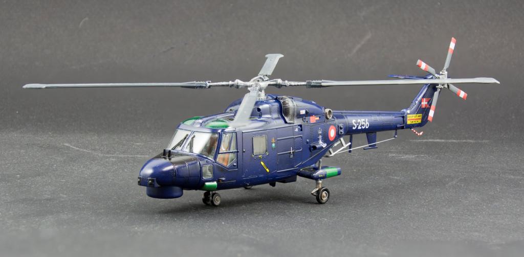 Die cast 1//72 Modellino Elicottero Helicopter Westland Lynx Mk.90 Denmark