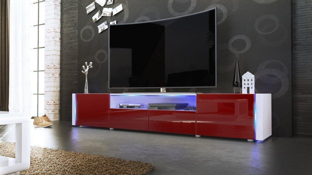 Casanova mobile porta tv moderno bianco salotto soggiorno sala con ...