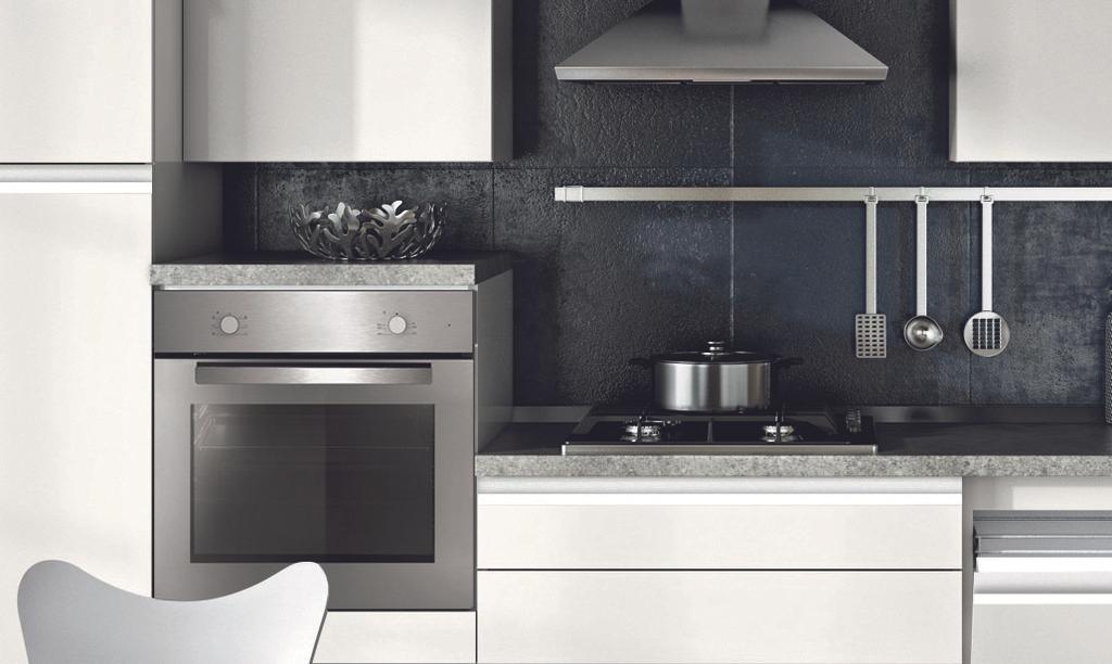 Cucina modello Elisa, composizione per cucina moderna modelli ...