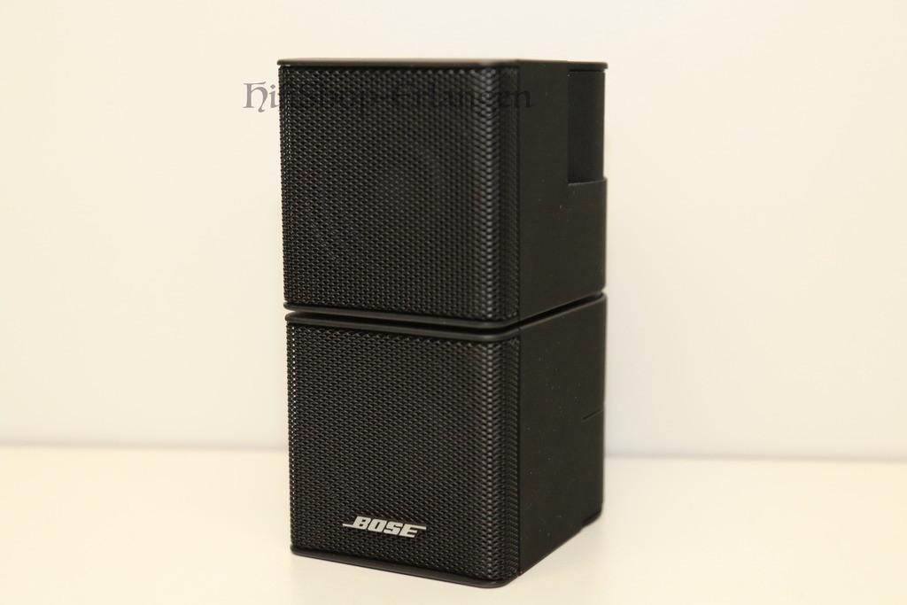 bose jewel double cube lautsprecher schwarz nur aussteller w neu zustand ebay. Black Bedroom Furniture Sets. Home Design Ideas