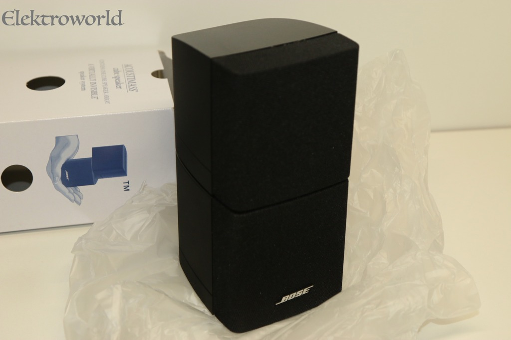 1x replacement bose double cube for acoustimass 10 series. Black Bedroom Furniture Sets. Home Design Ideas