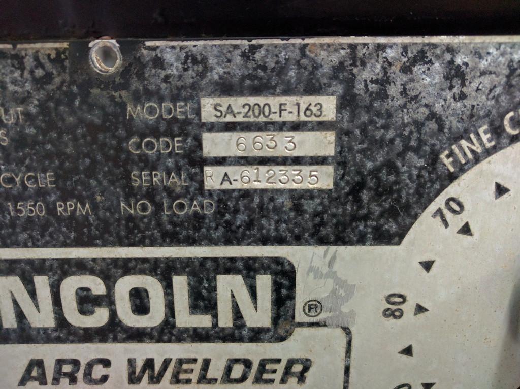 My first SA 200 / F162 & F163 / Restoration [Archive] - WeldingWeb