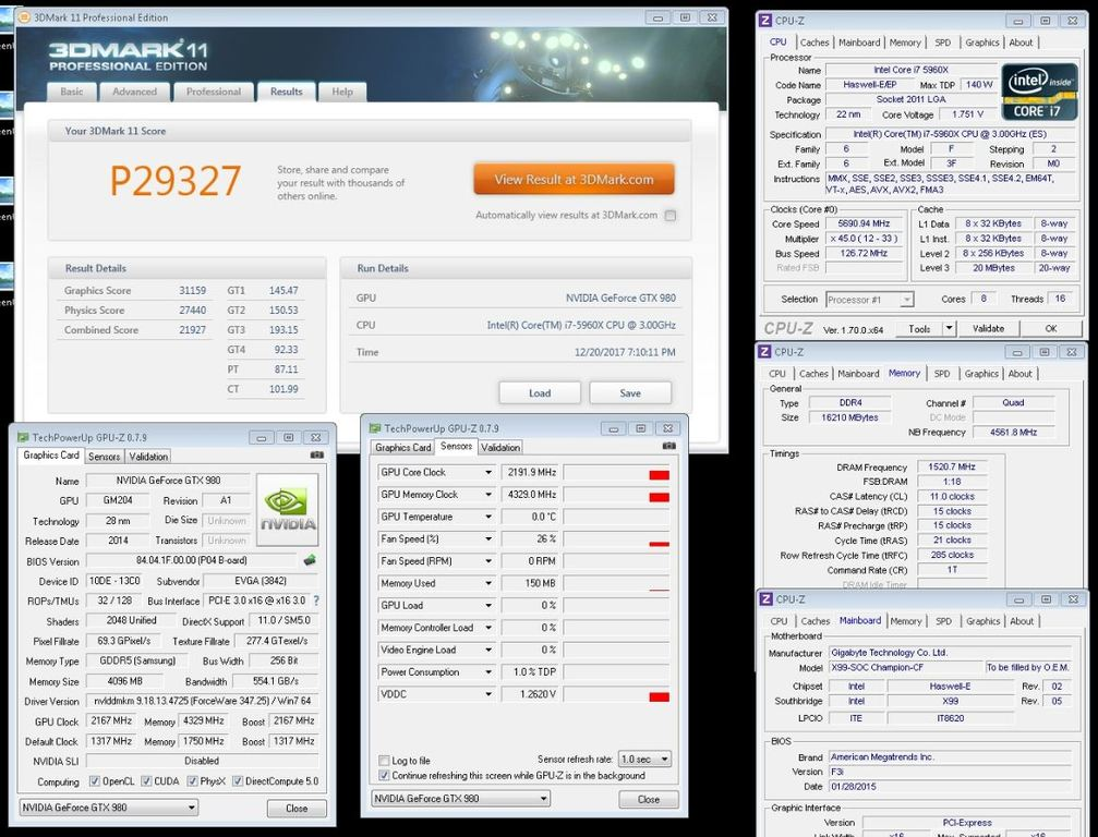 8Pack tests the EVGA GTX 980 Classified  | Overclockers UK