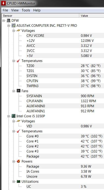 Fan speed missing on Lenovo Thinkcentre M81 - Lenovo Community