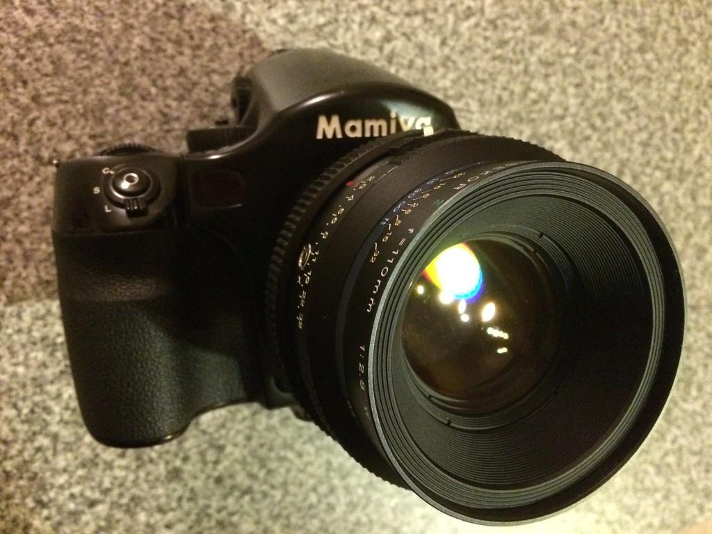 A RZ67/RB67 lens adapter to Mamiya/PhaseOne 645 camera - DIY