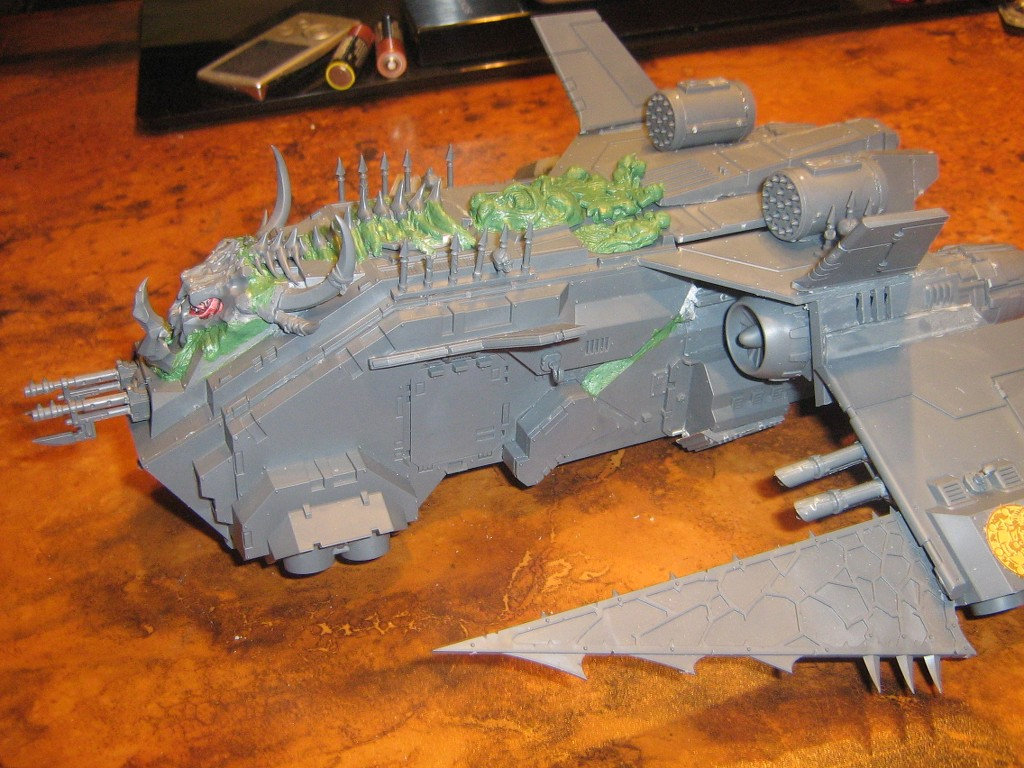 Converting a Stormraven into a Storm Eagle or Fire Raptor ...