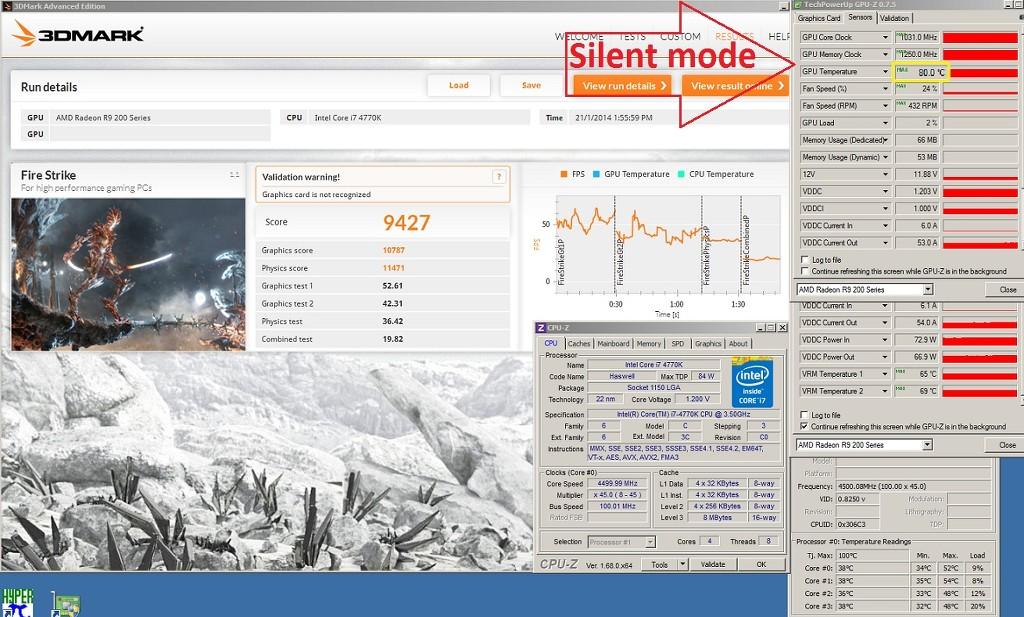 Fresh stock Gigabyte R9 290-OC 4GB with F3 bios! - www