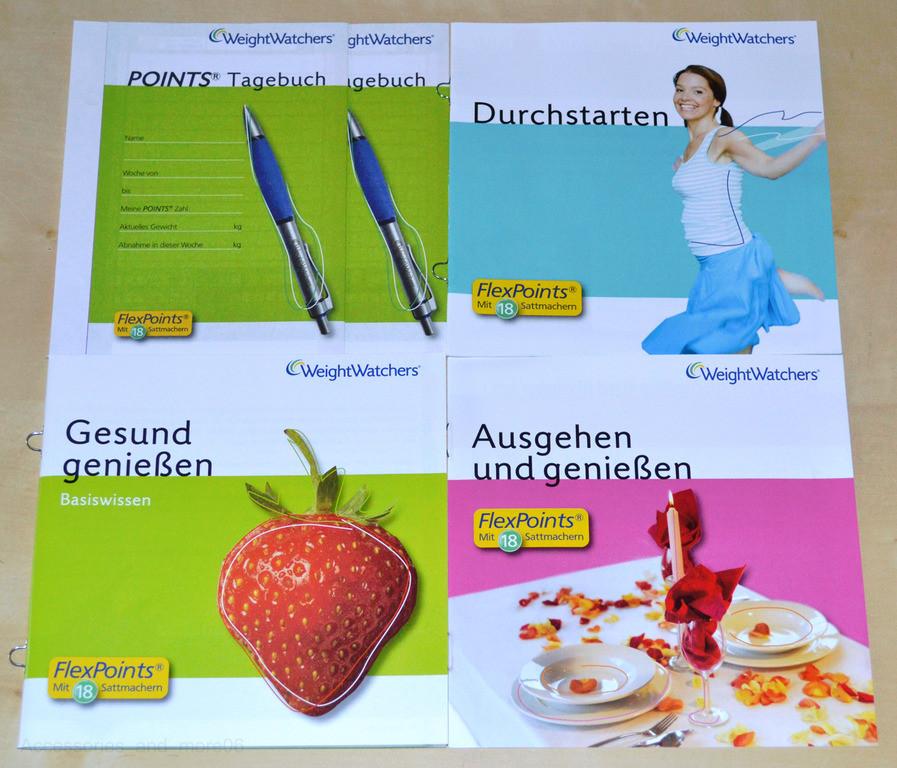 weight watchers start brochures points analyse ses sattmacher plan set 2 2014 ebay. Black Bedroom Furniture Sets. Home Design Ideas