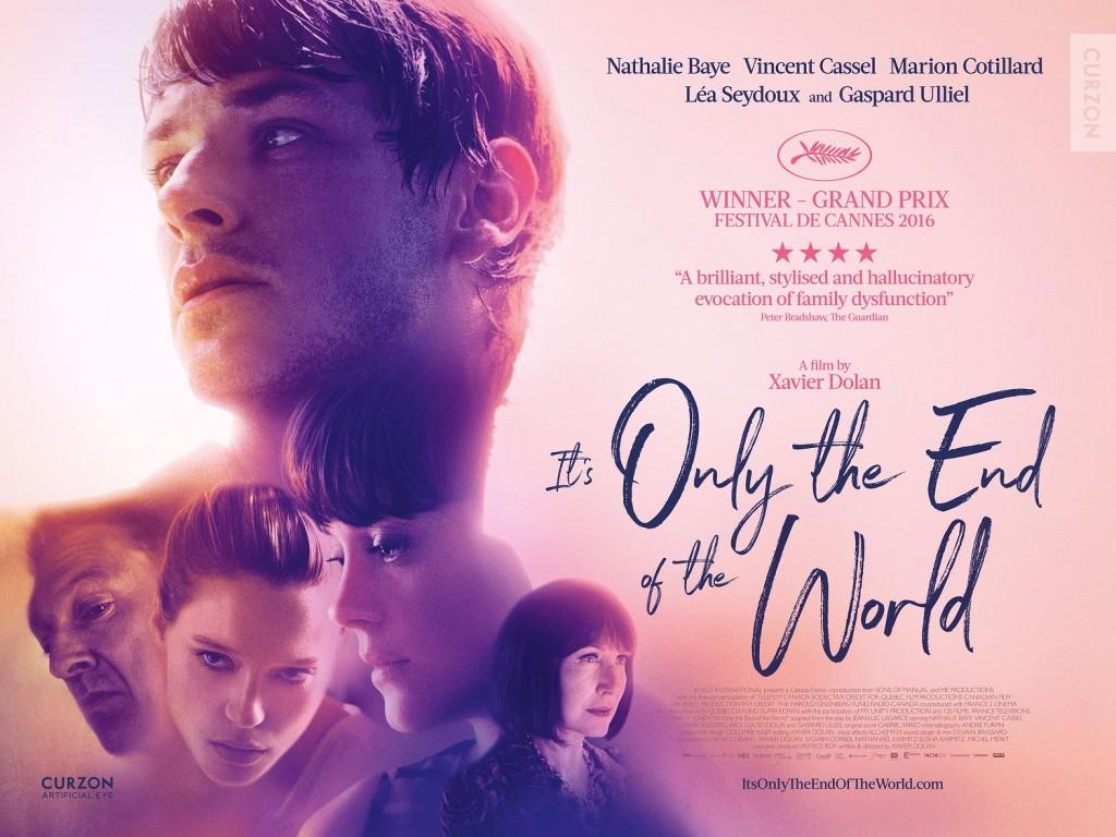 Ακριβώς το τέλος του κόσμου (Juste la fin du monde) Quad Poster