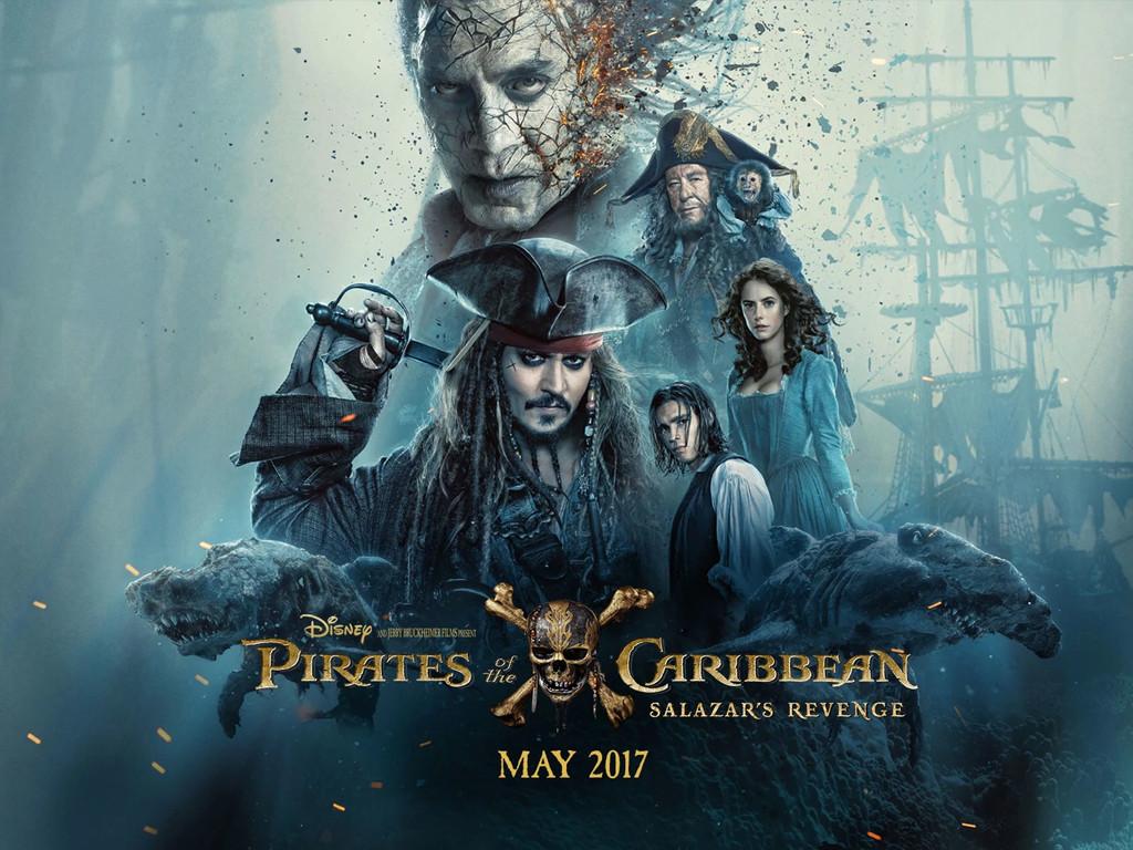 Οι Πειρατές της Καραϊβικής: Η Εκδίκηση του Σαλαζάρ (Pirates of the Caribbean: Dead Men Tell No Tales) Wallpaper