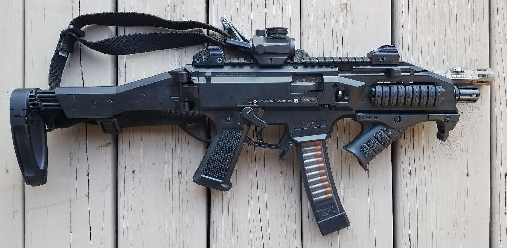 CZ Scorpion with Tailhook Brace - A Flawed Masterpiece