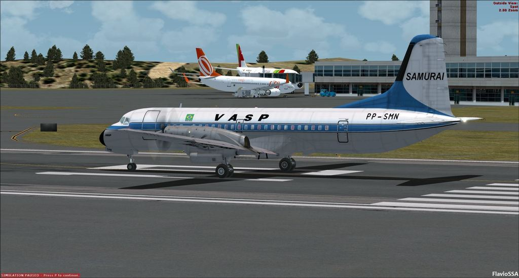Aerosim YS-11 Repaints