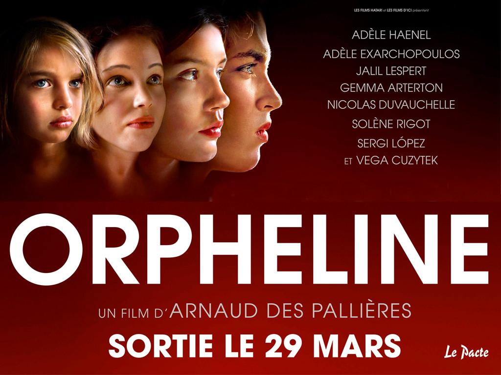 Σε τέσσερις χρόνους (Orpheline) Quad Poster