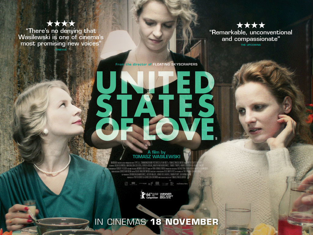 Ηνωμένες πολιτείες της αγάπης (Zjednoczone stany milosci) Quad Poster