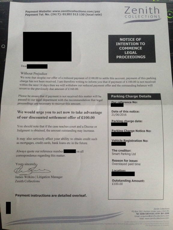 FightBack Forums > Bill from Smart Parking and now DRP