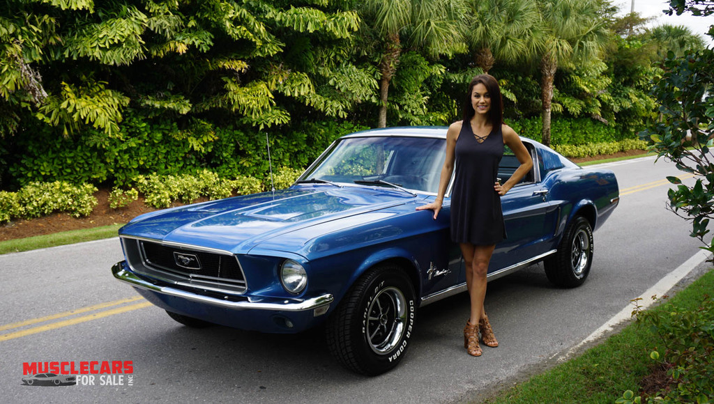 1968 Ford Mustang Fast Back V8 Tremic 5 speed Manual, A/C ...