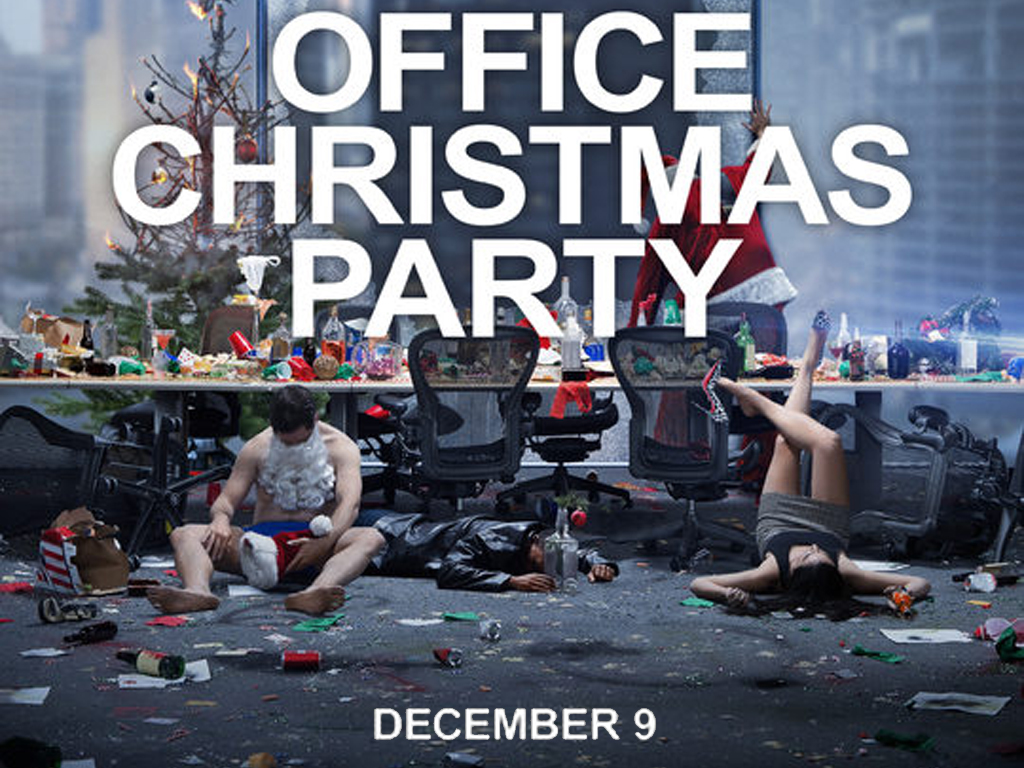 Office Christmas Party Wallpaper