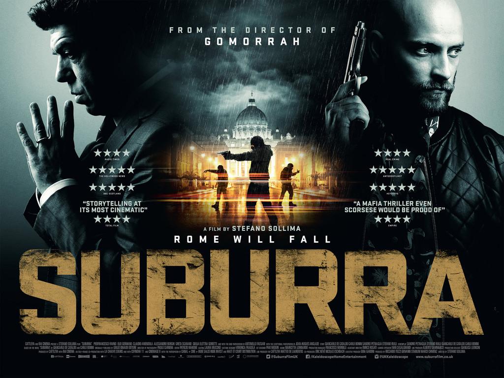 Υπόγεια Πόλη (Suburra) Quad Poster