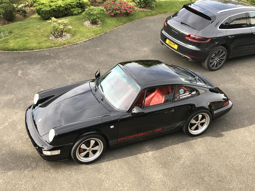 1989 - 93 911 Carrera Sport (1989) 2010 - 964 Carrera 2 (1990) Redtek  3.8RSR 2012 - 14 Porsche Cayenne (2012) 2015 - 17 Porsche Cayenne Diesel S  (2015)