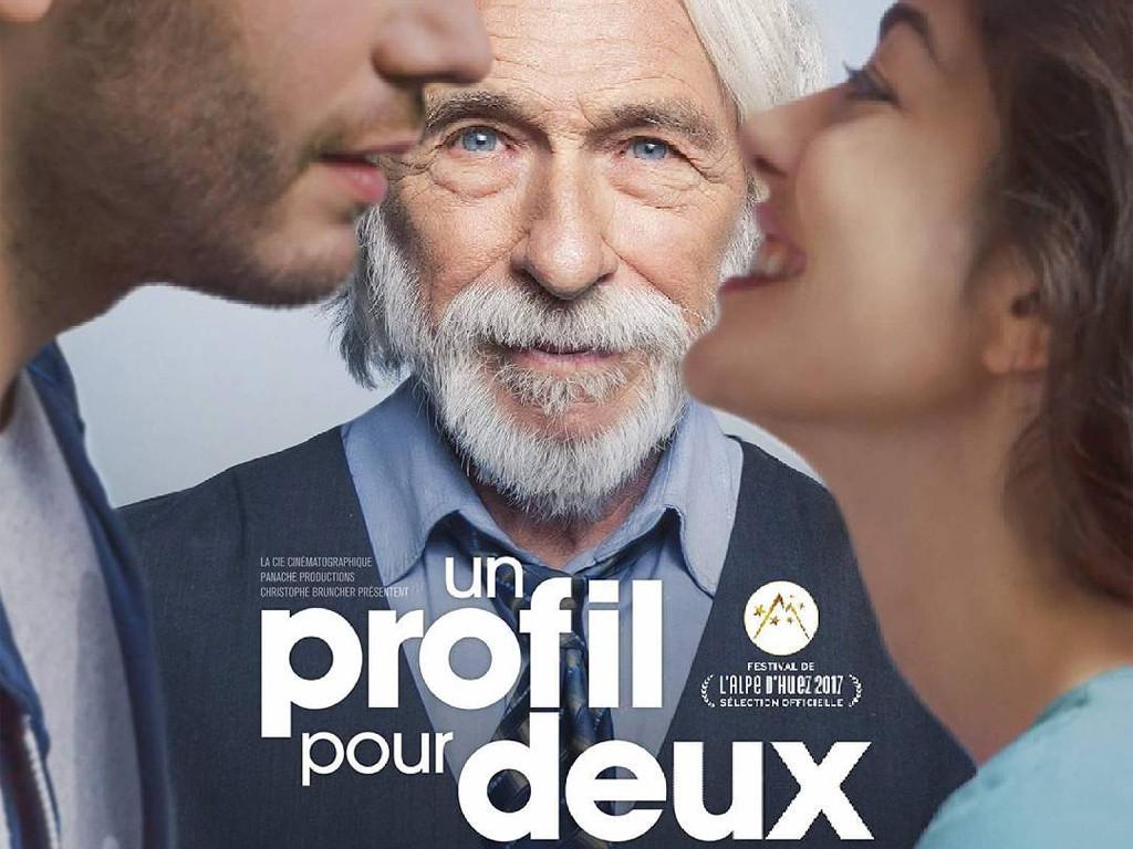 Ένα προφίλ για δύο (Un profil pour deux) Quad Poster