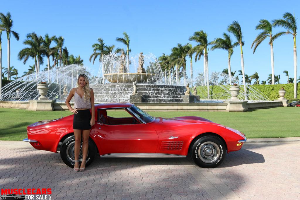 1972 Corvette Stingray Frame off Restoration ...