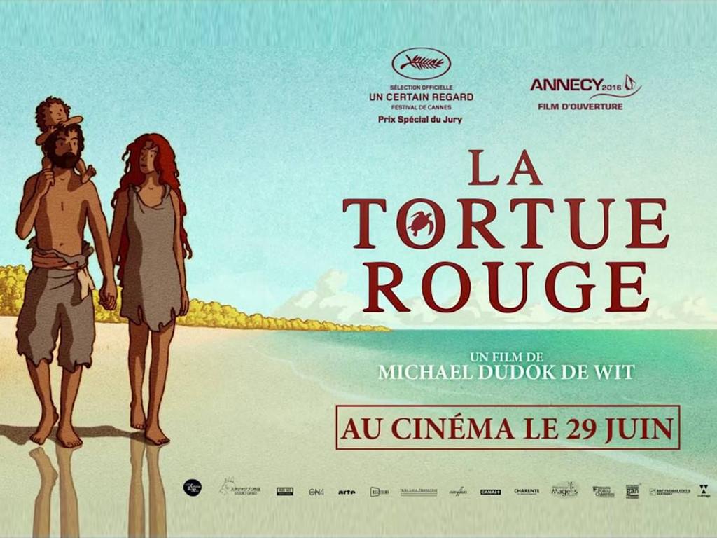 Η κόκκινη χελώνα (La tortue rouge) Wallpaper