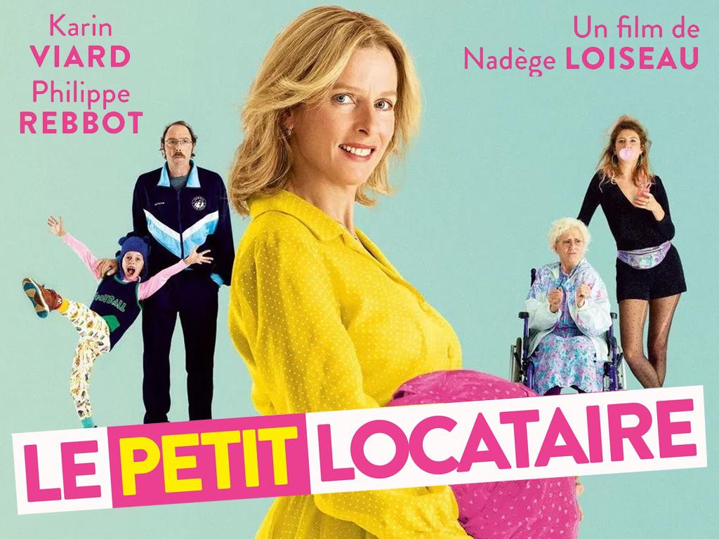 Μαμά ξανά! (Le petit locataire/ A Bun in the Oven) Quad Poster