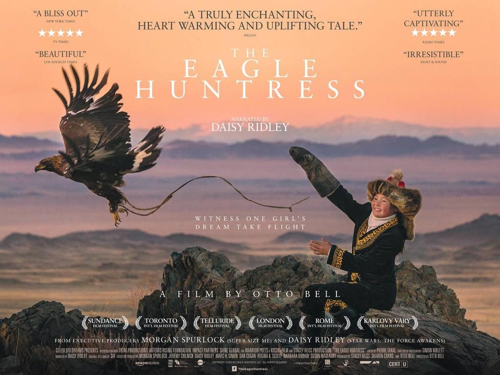 Η κυνηγός με τον αετό (The Eagle Huntress) Quad Poster