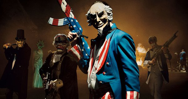 'The Purge: Election Year' image courtesy of Blumhouse, Platinum Dunes and Universal