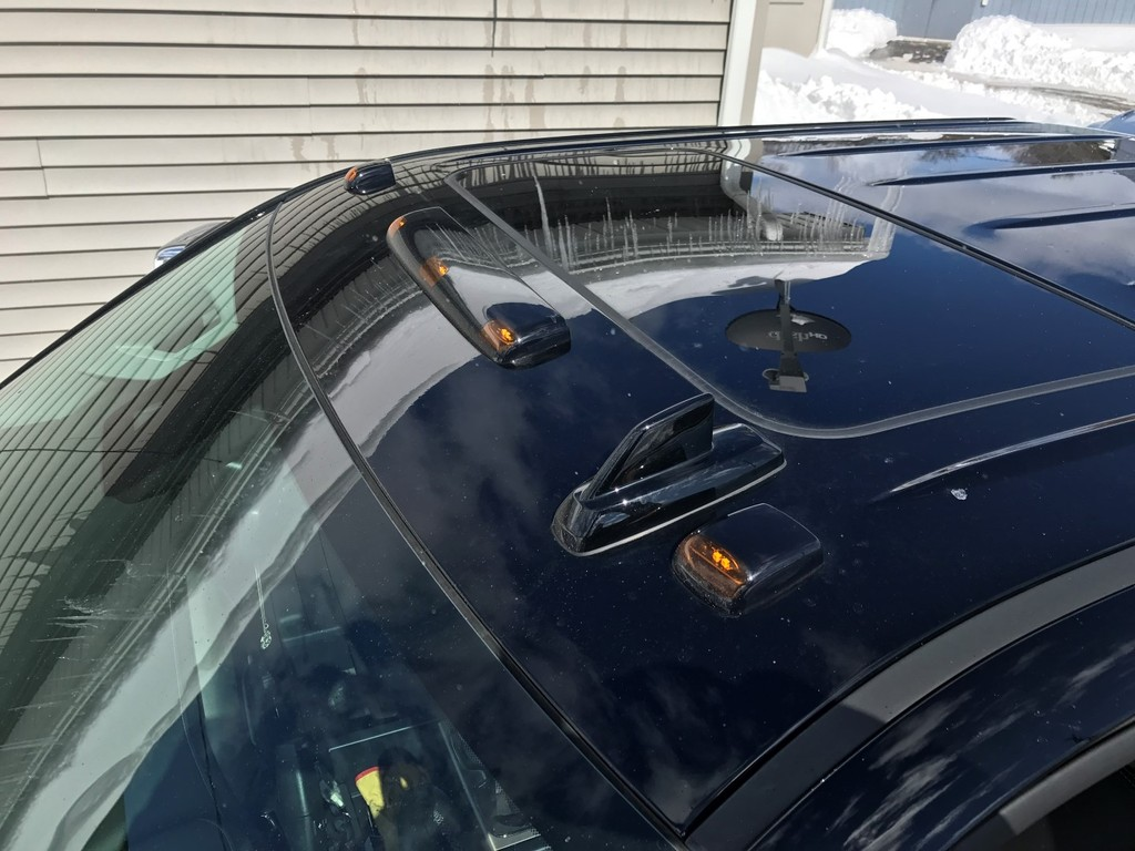 2017 Roof Marker Light Install - Chevy and GMC Duramax ... Duramax Cab Wiring Harness on