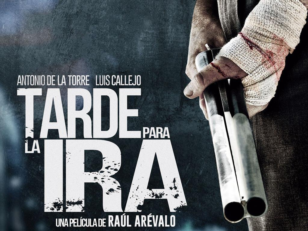 Η οργή ενός υπομονετικού ανθρώπου (Tarde para la ira) Quad Poster