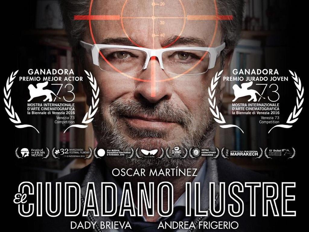 Ο επιφανής πολίτης (El ciudadano ilustre) Quad Poster