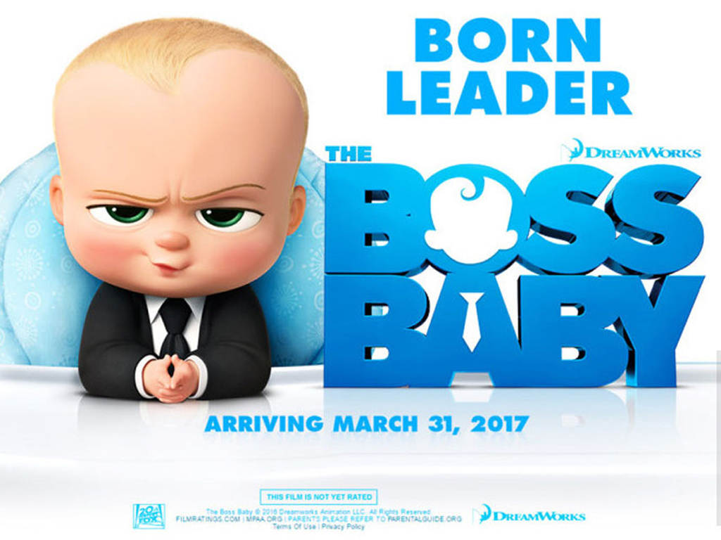 Αρχηγός από Κούνια (The Boss Baby) Quad Poster