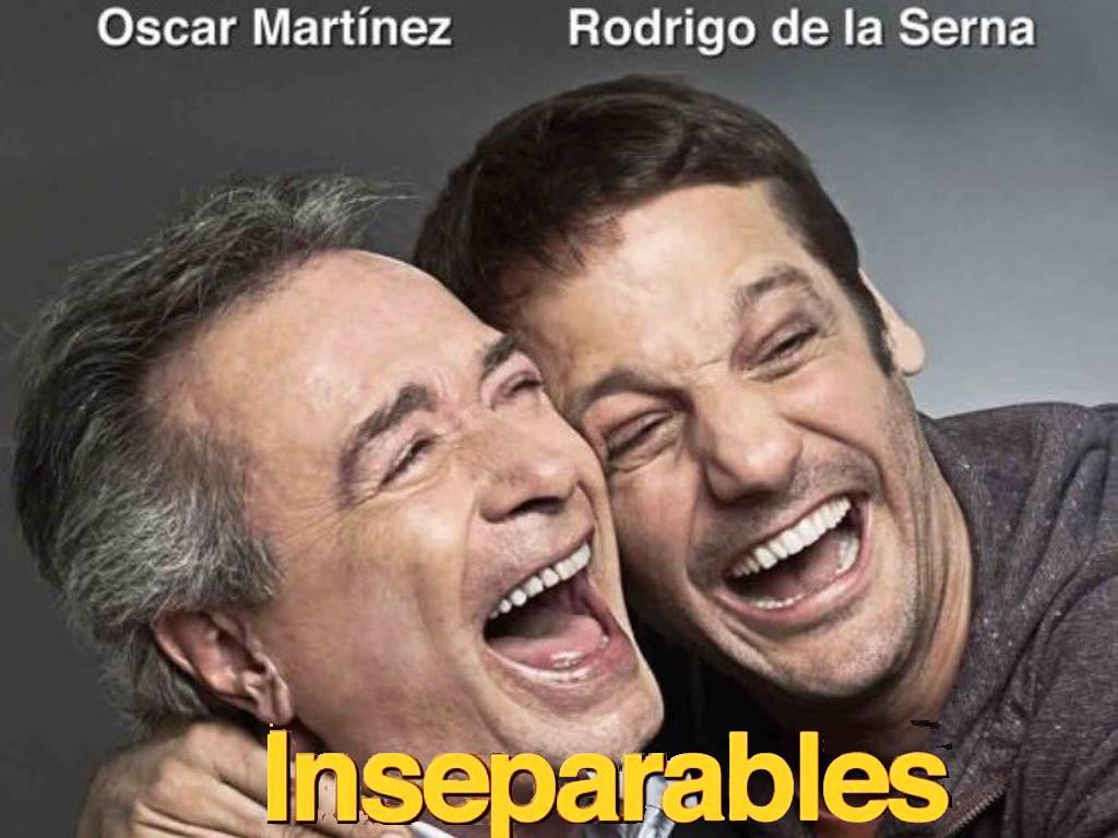 Λατίνοι και άθικτοι (Inseparables) Quad Poster