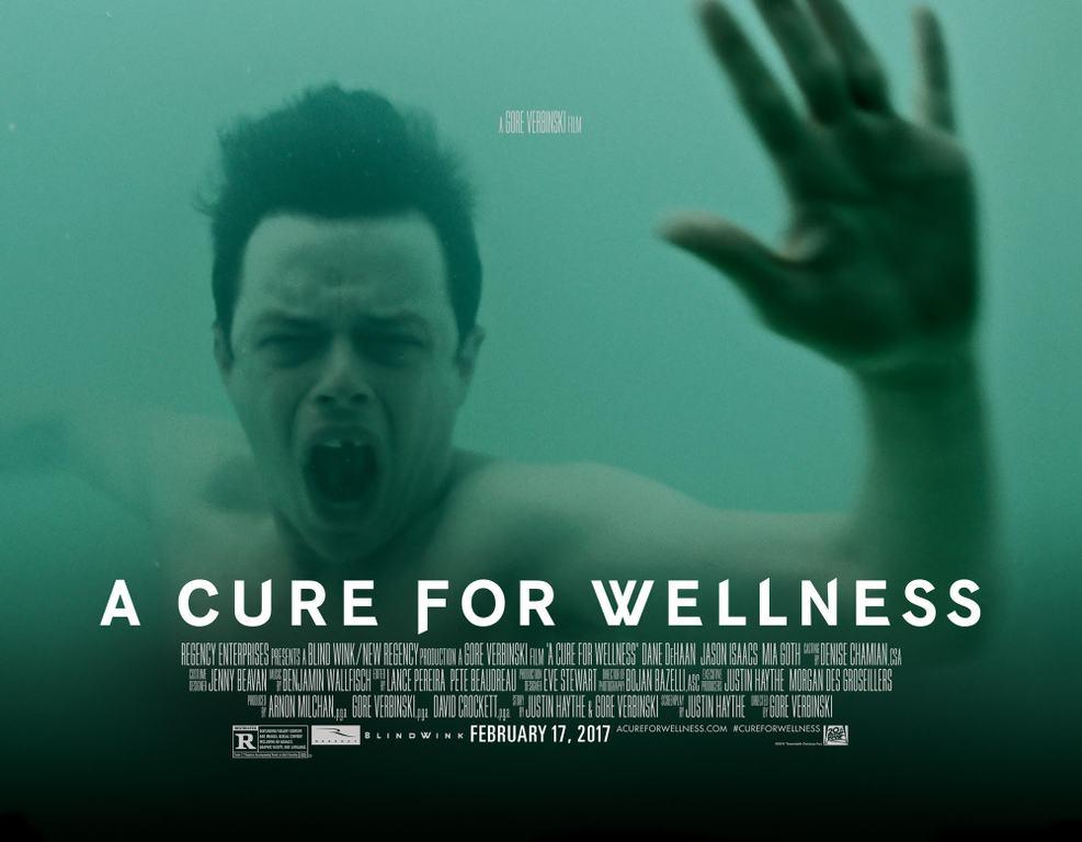 Αντίδοτο στην Ευεξία (A Cure for Wellness) Quad Poster