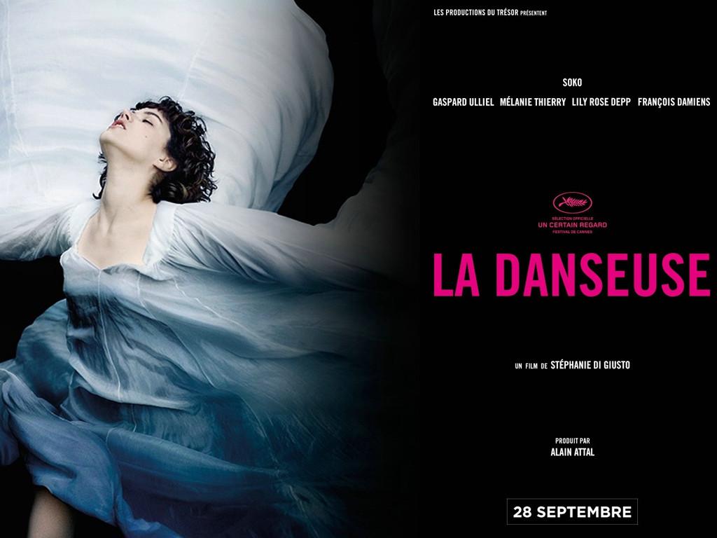 Η χορεύτρια (La danseuse) Wallpaper