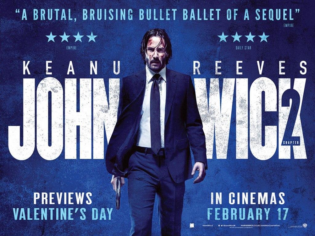 John Wick: Κεφάλαιο 2 (John Wick: Chapter 2) Quad Poster