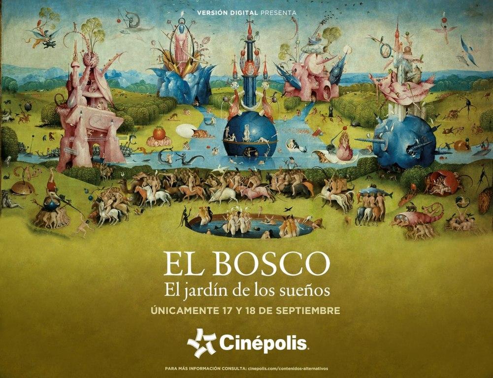 Τα μυστήρια του Ιερώνυμου Μπος (El Bosco. El jardín de los sueños) Quad Poster