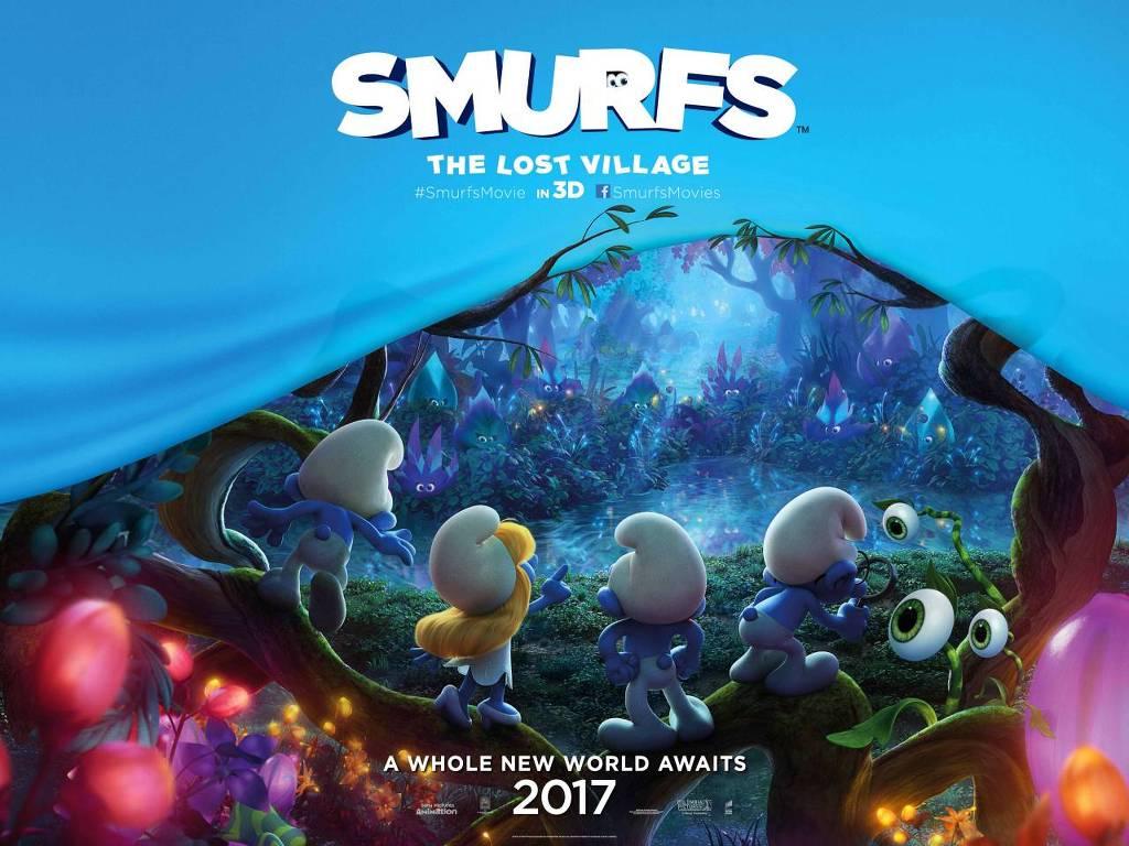 Στρουμφάκια: Το Χαμένο Χωριό (Smurfs: The Lost Village) Wallpaper