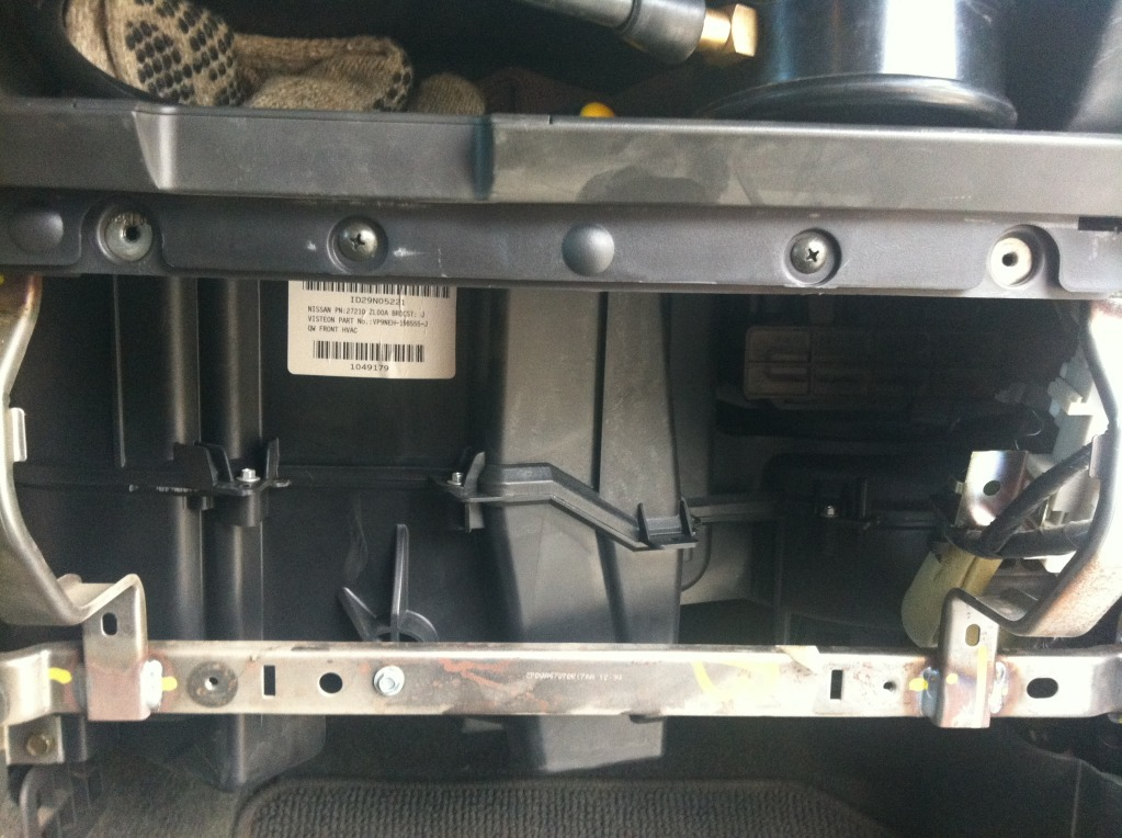 How to Replace or Check the Blower Motor (ticking or buzzing when