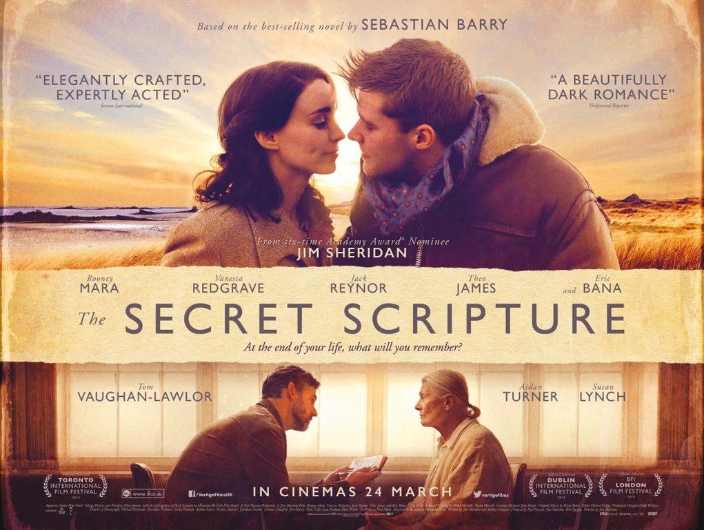 Η μυστική γραφή (The Secret Scripture) Quad Poster
