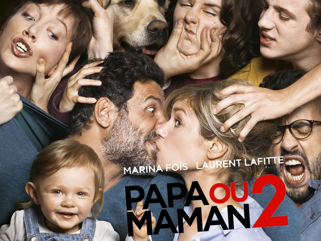 Με τον μπαμπά ή την μαμά; 2 (Papa ou maman 2) Wallpaper