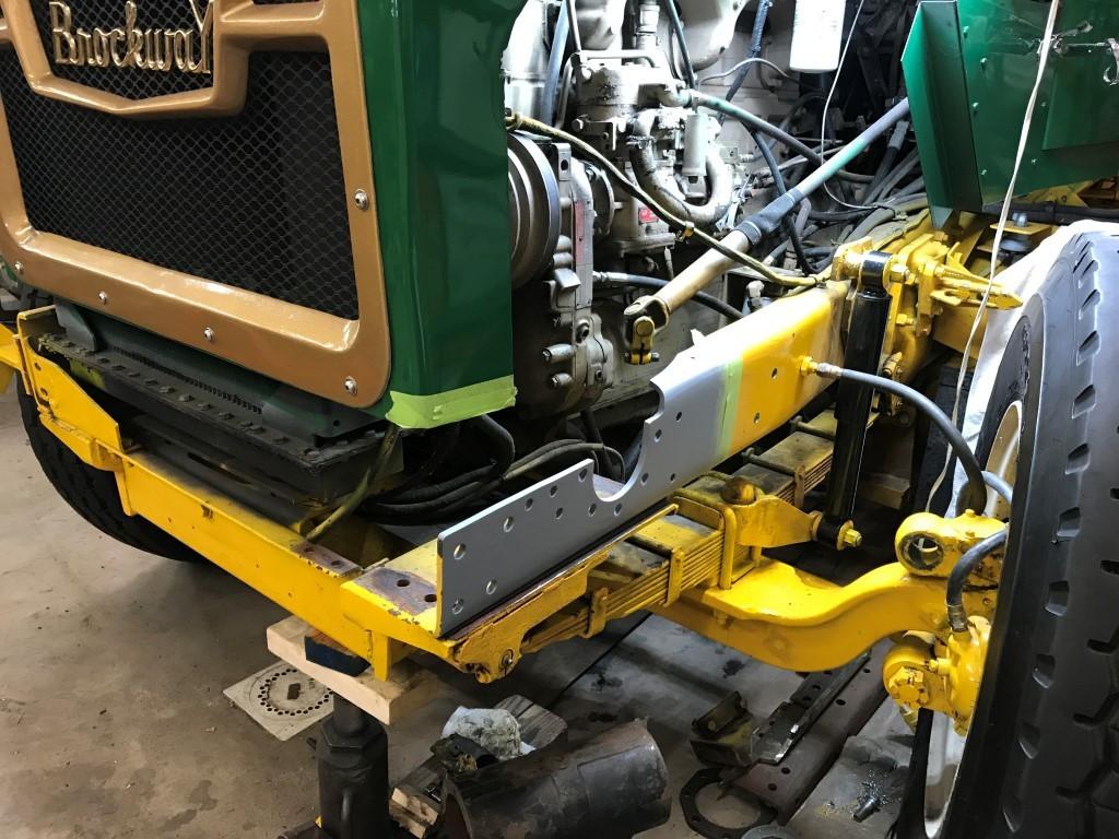 1968 N360tl Brockway Power Steering Upgrade