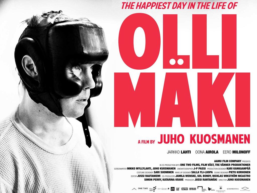 Η πιο ευτυχισμένη μέρα στη ζωή του Όλλι Μάκι (Hymyilevä mies) Quad Poster