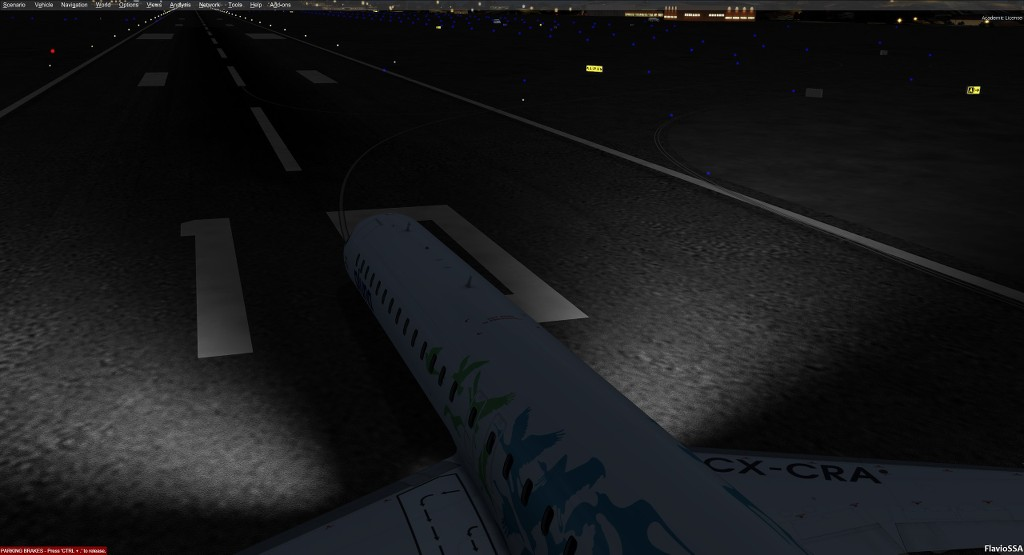 Landing lights in FSX not showing - Model, Animations, Repaints