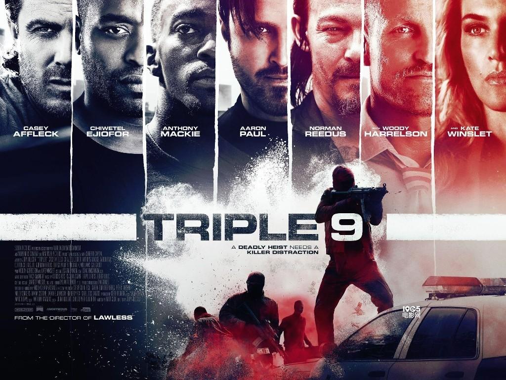 Κωδικός 999 (Triple 9)  Quad Poster