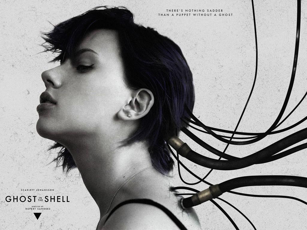 Το φάντασμα στο Κέλυφος (Ghost In The Shell) Quad Poster