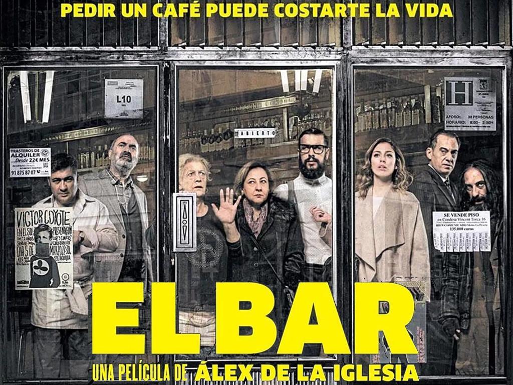 Το μπαρ (El bar) Quad Poster