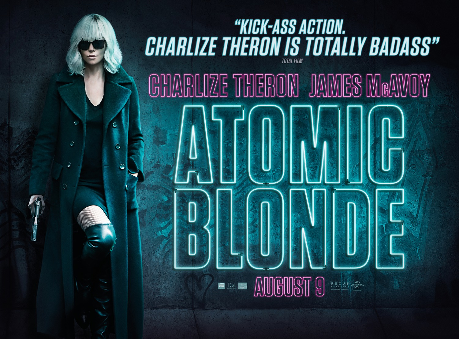 Atomic Blonde Wallpaper